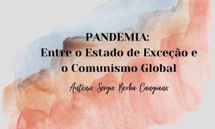 PANDEMIA: Entre o Estado de Exceção e o Comunismo Global